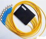 divisore ottico del PLC della fibra del vassoio FTTH dell'ABS 1X2/1X4/1X8/1X16/X1X32/1X64
