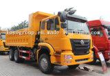 Camion à benne basculante de Hohan 6X4 à vendre avec le tombereau 336HP