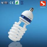 E27 220V 25W halbe gewundene Energie-Sparer-Birnen materiell