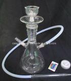 Narguilé de fumage en verre de modèle simple