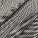 Polyester 75D Kation gemischtes Houndstooth 4-Way Spandex-Gewebe für Kleid-Kurzschlüsse