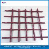 Квадратная ячеистая сеть - сетка волнистой проволки нержавеющей стали