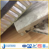 벽 클래딩 대리석 돌 PVDF 코팅을%s 가진 알루미늄 벌집 위원회