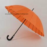 ombrello diritto durevole aperto del manuale 24k (YS-S008G)