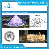 Luz da fonte do diodo emissor de luz do Ce para a associação e a fonte do diodo emissor de luz