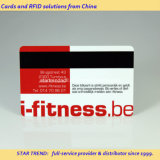 Vier Kleuren Plastic Magnetic Stripe Card voor Gym Loyalty