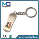 Freies Beispielfabrikmäßig hergestelltes kundenspezifisches Drucken Keychain