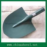 Schaufel-grünes Puder-überzogene Stahlschaufel, die Spaten bewirtschaftet