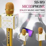 마술 Karaoke 마이크 이동 전화 클립을%s 가진 무선 Bluetooth 마이크 스테레오 스피커 지원 플래트홈