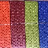 Кожа PU шестиугольника для пакета коробки случая