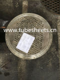 Feuille de tube de pièce forgéee d'acier inoxydable de qualité