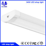 40W 4FT 상점 빛 LED, ETL Dlc 승인되는 100-277V Ra>80 110-120lm/W PF>0.9 보장 5 년