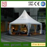 Wasserdichtes feuerfestes Aluminiumpagode-Zelt für im Freien ärztliche Bemühung