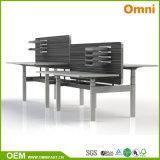 대중적인 2개의 모터 3 단계 전기 고도 조정가능한 책상