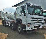 8-12 m3具体的なミキサーのトラック、HOWOのコンクリートミキサー車のトラック