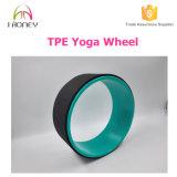 Roda preta de ioga TPE / ABS com multi cor para escolha Roda Custom Yoga