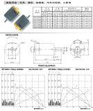 Motor eléctrico de PMDC para el amortiguador del juguete/del modelo/del masaje