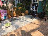 DIYの屋外の庭のPEベースが付いている陶磁器のDeckingのタイル