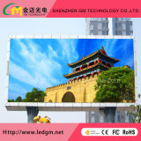 P10 / P16 Publicidade Ventilação Full Color Outdoor LED Display Screen / Video Wall
