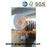 100% de papel térmico de pulpa de madera en rollo para la 65GSM Recibo