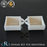 Crogiolo di ceramica del cassetto dell'allumina del laboratorio 99.6% per temperatura elevata