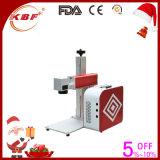 Sprachkasten-bewegliche Faser-Laser-Markierungs-Maschine für Verkauf