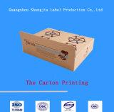 A caixa da caixa da impressão/presente da caixa calç a caixa