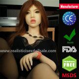 Esqueleto cheio novo da boneca do sexo do silicone da qualidade superior de 135cm