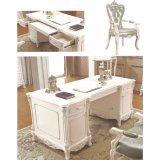 Mobília de escritório Home com tabela executiva e biblioteca