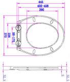 Neues Entwurfs-weißes Badezimmer-zusätzlicher Toiletten-Sitz