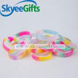 Wristband poco costoso del silicone di modo su ordinazione
