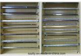 صنع وفقا لطلب الزّبون إستشراد [شمبن] ألومنيوم أنابيب قطاع جانبيّ لأنّ خزانة ثوب حامل