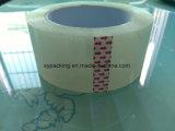 De super Duidelijke Acryl Zelfklevende Duidelijke Banden Op basis van water 120rolls van de Verpakking BOPP in een Karton