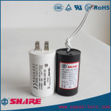 Condensatore SH bianco di plastica del condensatore di esecuzione del motore a corrente alternata Cbb60