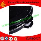 Roaster овала эмали стали углерода L-Размера