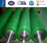 PU-Rollen-Drucken-Rollen-dreht anhaftende Rolle PU Gummigummireifen