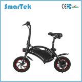 Scooter à grande vitesse Ebike de Bicicleta de vélo de mine de la jeunesse de Smartek de version de Velo de ville de bicyclette de pliage de poussée de vélo électrique neuf de bicyclette avec 12inch le gros pneu S-013