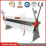 Maquinaria de dobra manual de dobramento da folha de alumínio da máquina 1.5mm da mão do metal