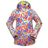 Snowboard 스키 재킷 여자의 스키 옷
