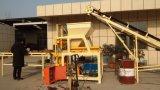 Het de volledig Automatische qt4-10 Hydraulische Machine van het Blok van de Grond/Blok die van de Aarde Machine maken