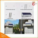 800lm lumière solaire de jardin de l'aluminium DEL avec le détecteur de mouvement de radar