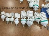 O meio halogênio espiral energy-saving da lâmpada 24W 40W/misturou/2700k-7500k Tri-Color E27/B22 220-240V