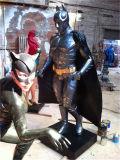 Batman, het Schilderen van de Hars, Beeldhouwwerk, Professionele Productie van de Karakters van het Beeldverhaal van de Animatie