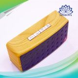 Mini altoparlante esterno di Bluetooth di disegno di legno del tessuto