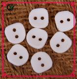 Двойная кнопка квадрата перлы кнопки смолаы цвета
