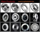 Disques lourds de frein avec le certificat ISO9001 et le certificat de GV