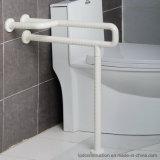 Parede estável para pavimentar as barras de garra de nylon do banheiro do ABS as mais &Armrest