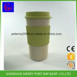 cuvette de café de fibre respectueuse de l'environnement du blé 500ml et tasses de café réutilisables