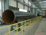 линия распыляя покрытия порошка эпоксидной смолы корозии стальной трубы 3PE анти-