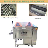 Líquido de limpeza da batata com escovas/máquina de casca pele dos peixes